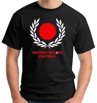 Contra el fútbol moderno Italia terraza Hooligans etapa Ultras para venta de verano de algodón 100% T camisa divertido Tee