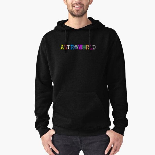 7a95d10fc317 Travis Scott Astroworld Hoodie Hip Hop Astroworld Album Hoodie Sweatershirt  Hipster Pullover Hoodie