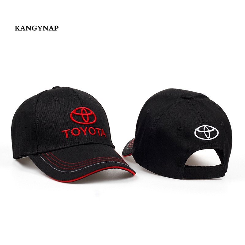 AKAGYNAP  Wholesale MOTO GP F1 Racing Cap Cotton Embroidery Toyota  Baseball Cap Outdoors Sports 51392629407