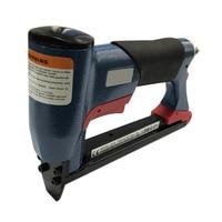 Naile Gun Pneumatic Air Stapler Nailer Fine Stapler Gun 4 16mm 1/2 for Furniture Blue Woodworking Pneumatic Air Power Tool