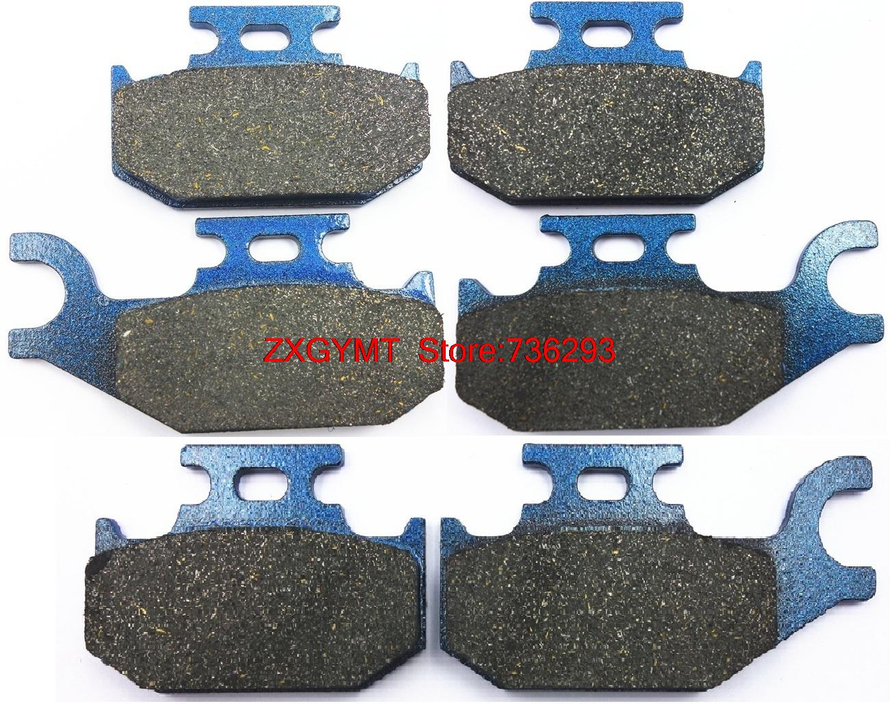 Atv / Utv Semi Metallic Brake Pad Set fit for BOMBARDIER 800 Outlander 2006
