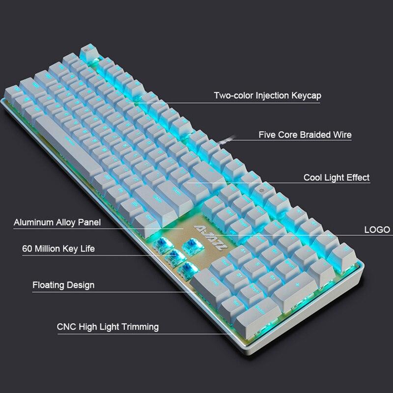 Aliexpress Buy New 108 Keys Ajazz AK33i Wired LED Backlit – Light Keyboard Wiring Diagram