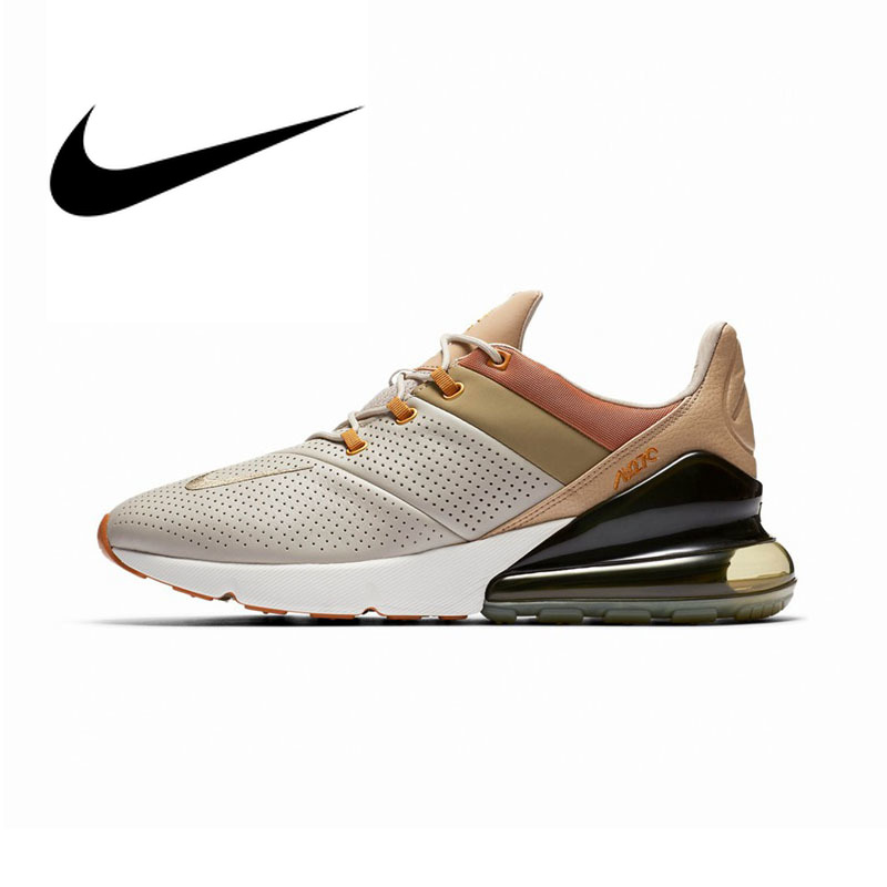 D'origine NIKE Air Max 270 Premium de Sneakers Hommes chaussures de course à lacets Respirant Jogging Durable Rembourrage Massage AO8283