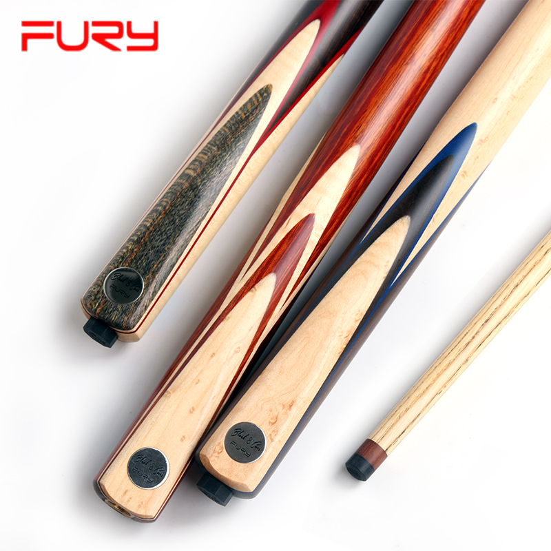 2018 FURY CN 1/2 Handmade Pool Cue Stick With Case Ergonomic Design Hardwood North American Maple Billiard Cue Kit 11mm Tip Pool