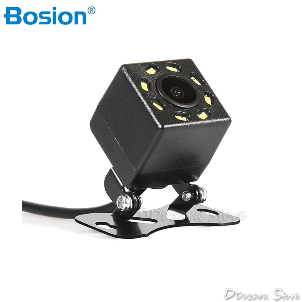 8LED Night vision Reverse Camera 170 Angle Car Rear view Camera DC 12V Vehicle C