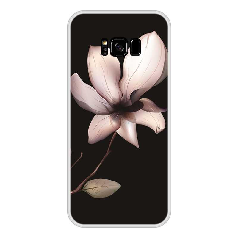 الأزياء الهاتف حقيبة لهاتف سامسونج غالاكسي ملاحظة 9 8 5 4 اغلفة السامسونج غالاكسي S6 S5 S7 حافة S8 s9 plus سيليكون لينة عودة غطاء