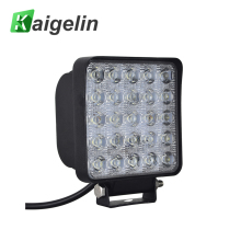 2Pcs Car Work Light 75W LED Spotlight 12V 25*3W IP67 Square Spot Lamp For SUV Truck Boating Hunting Fishiing Outdoor Lighting