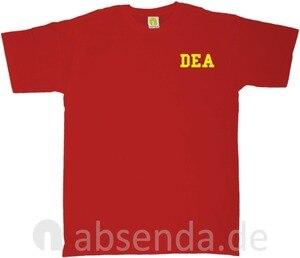 Image 3 - Dea Drug Enforcement Agancy Escobar Chapo Police T Shirt Neu 2019 New Cotton Short Sleeves Hip Hop O Neck Casual Cotton T Shirt