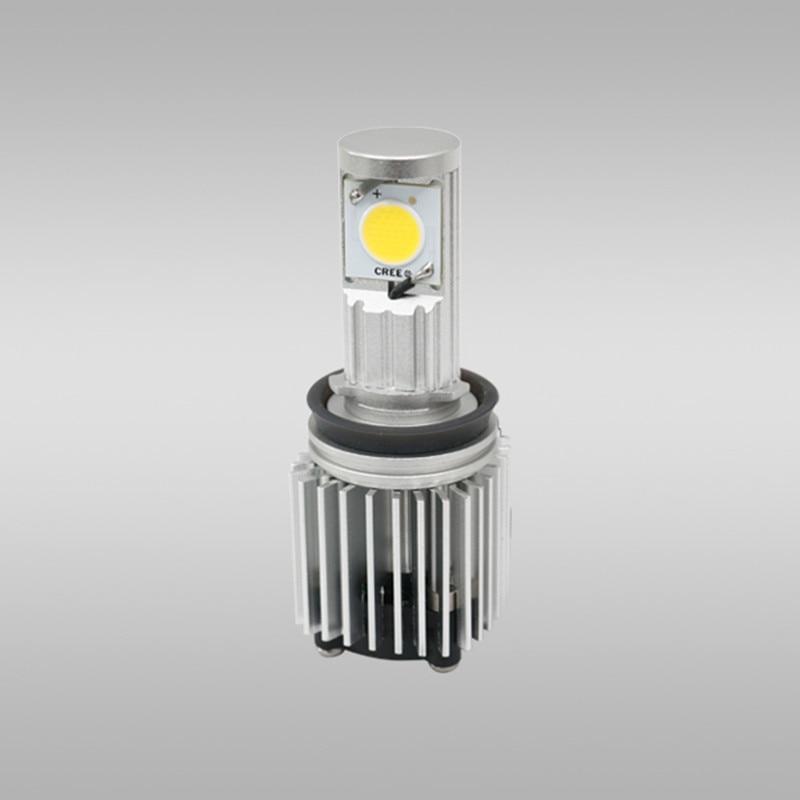 ФОТО Hot 2 pcs/set CREE 30W auto parts super bright automotive LED Head lamp car light bulbs H8 A-series Headlight conversion Kits