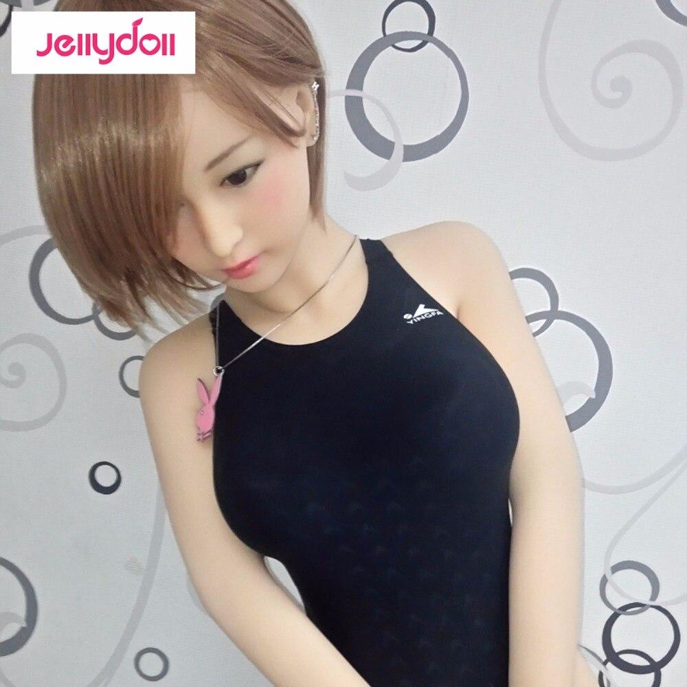 Sexy Sports Miss 145 cm Japanese silicone font b sex b font font b dolls b