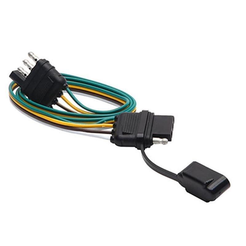 Weatherproof RV 7 Pin Gang Wire Pole Inline Light Trailer ... on