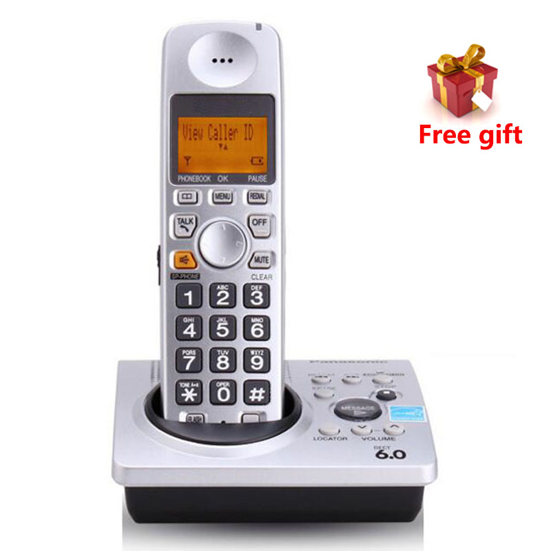 1.9 GHz DECT 6.0 Call ID With Answering System KX-TG1031S Digital Telephone Cordless Telephone Voice Mail Telefono Inalambrico answering back