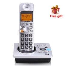 1.9 ГГц DECT 6.0 идентификатор вызова с автоответчиком Системы KX-TG1031S цифровой телефон беспроводной телефон Голосовая почта telefono Inalámbrico
