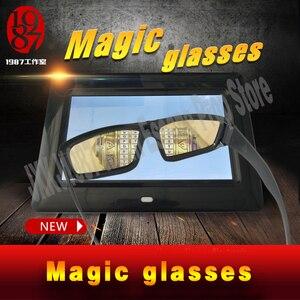 Image 2 - 新しいエスケープルーム小道具マジックメガネ魔法を見つけるメガネに見えない手がかり JXKJ1987 表示され実生活ルームエスケープ