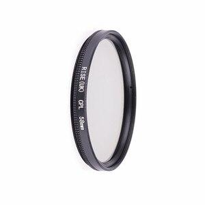 Image 4 - Filtr kamery filtr polaryzacyjny 49mm/52mm/55mm/ 58/62/ 67/72/ 77/ 82mm CPL filtr do aparatów Canon Nikon obiektyw lustrzanki cyfrowej