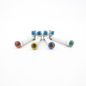 Image 4 - Cabeças de substituição para braun oral b, d12, d16, d29, d20, d32, 4 unidades/pacote SB 17A oc20, d10513, db4510k 3744 3709 3757 d19 oc18 d81