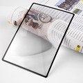 180X120mm Convinient Plana A5 PVC Folha X3 Página do Livro de Leitura de Ampliação Lupa Lupa Lente De Vidro Marca New