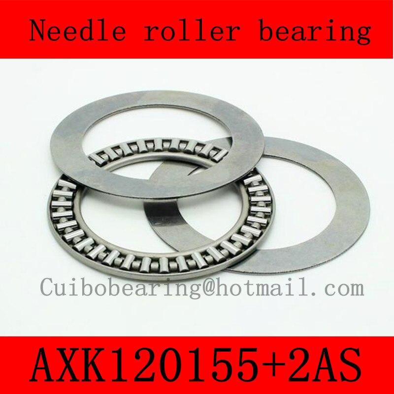 120X155X4mm AXK120155+2AS thrust needle roller bearing AXK120155TN just for sales volume na4910 heavy duty needle roller bearing entity needle bearing with inner ring 4524910 size 50 72 22