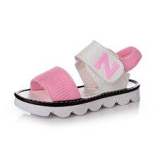 Chicas de verano sandalias de playa Niña Zapatos bebé de princesa zapatos 2018  nueva moda niños a40dfe21d739