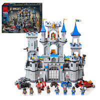 Building Block Set Compatible With Lego Castle 1393 PCS Extra Large 3D Construction Brick Educational Hobbies