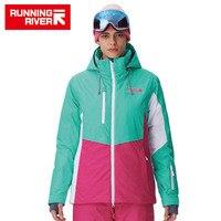 RUNNING RIVER Brand Women Ski Jacket 4 Colors Size S 3XL Waterproof Ski Snow Jacket Women
