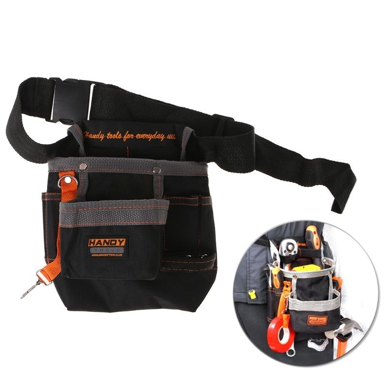 Oxford Tool Bag Waist Belt Pouch 600D Pocket Outdoor Work Hardware Multi-function Electrician Tools Bag Repair Tool