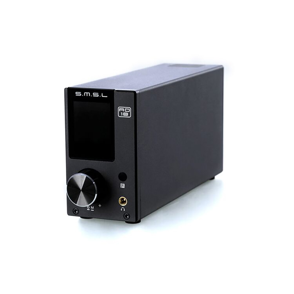 SMSL AD18 80W2 Bluetooth 4.2 HIFI USB DSP Digital Decoding Power Amplifier усилитель smsl ad18 black
