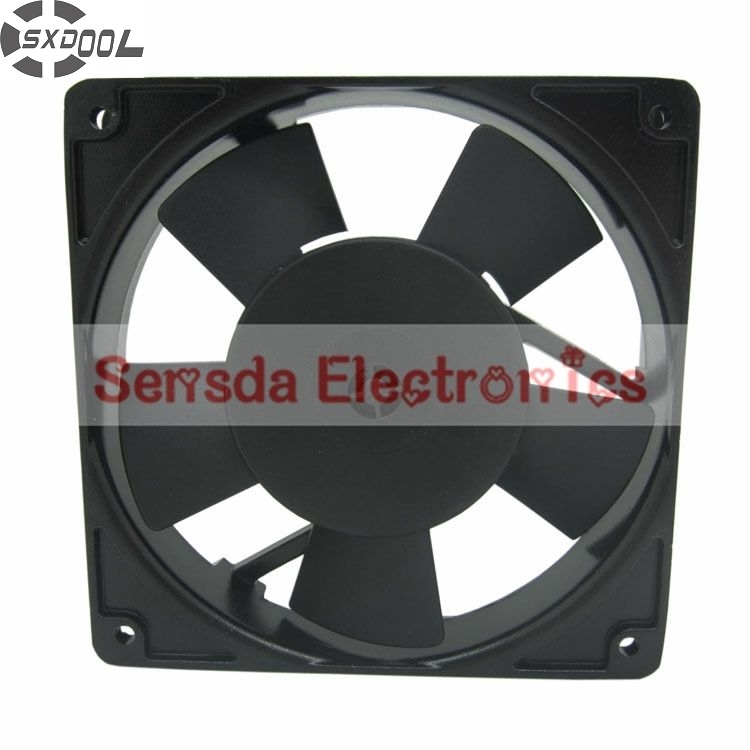 все цены на  SXDOOL 12P-230HB 12025 1225 12cm ball bearing cooling fan AC 230V 18/16W  онлайн