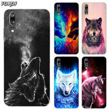 Starry animal wolf Soft Silicone Phone Back Case For Huawei P20 P30 P8 P9 P10 lite Pro Plus P Smart + TPU Cover
