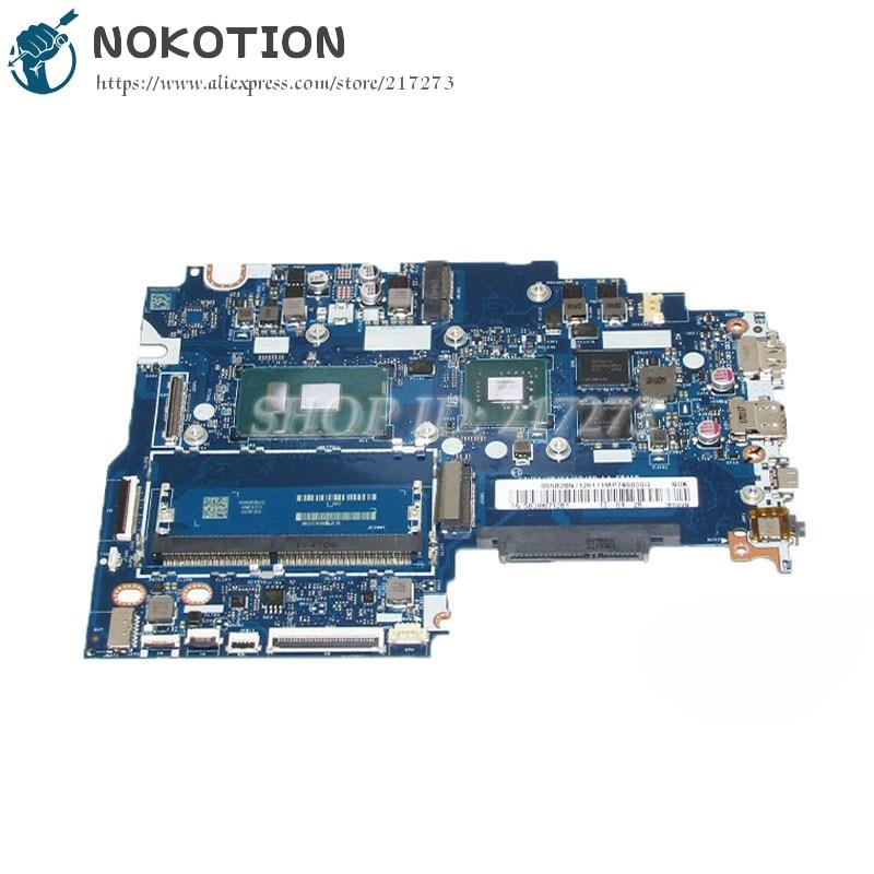 NOKOTION Main Board For Lenovo ideapad 320S Laptop Motherboard CIUYA YB SA SB SD LA-E541P SR341 i7-7500U CPU 920MX graphics