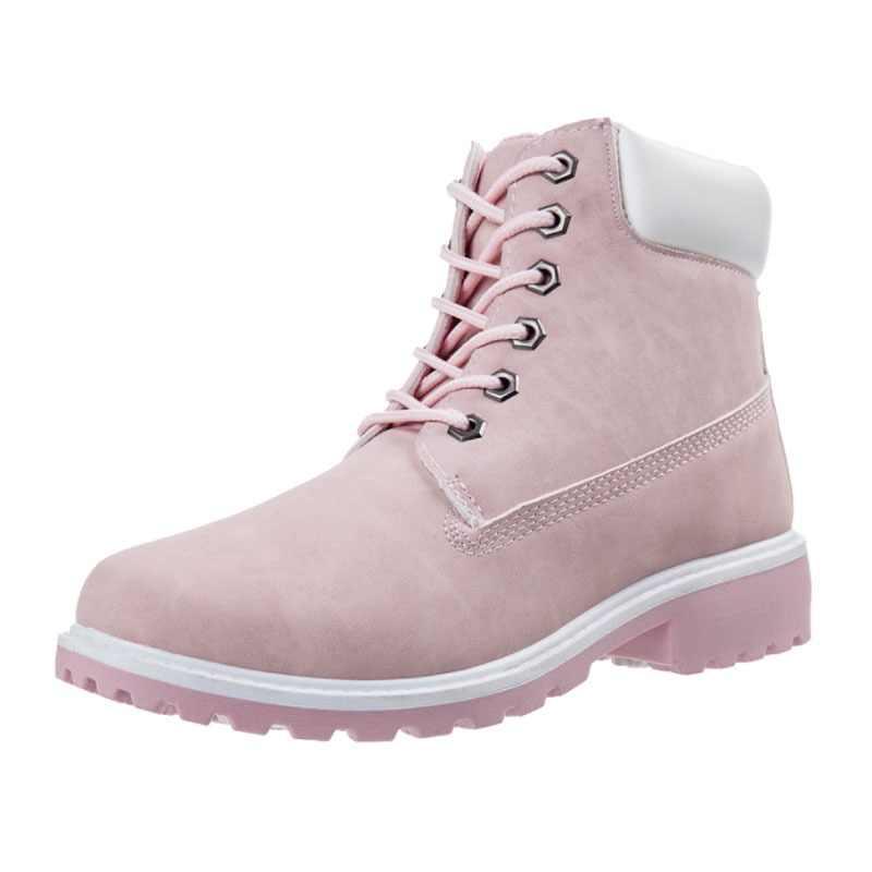 LALA IKAI зимние сапоги из искусственного нубука, женская обувь, большие  размеры, ботильоны 14a7b227bc6