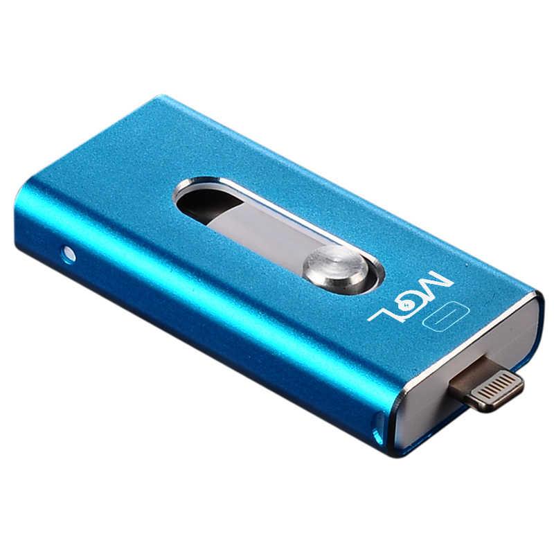 Mgl otg usb フラッシュドライブ 8 グラム 16 グラム 32 グラム 64 グラム iphone x/8/7 プラス/7/6s プラス/6 4s/5/5s/se & ipad iflash ドライブメモリスティックペンドライブ