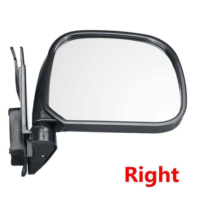Cristal de espejo retrovisor derecho con placa y calefacci/ón AM-HAIT09-RCH