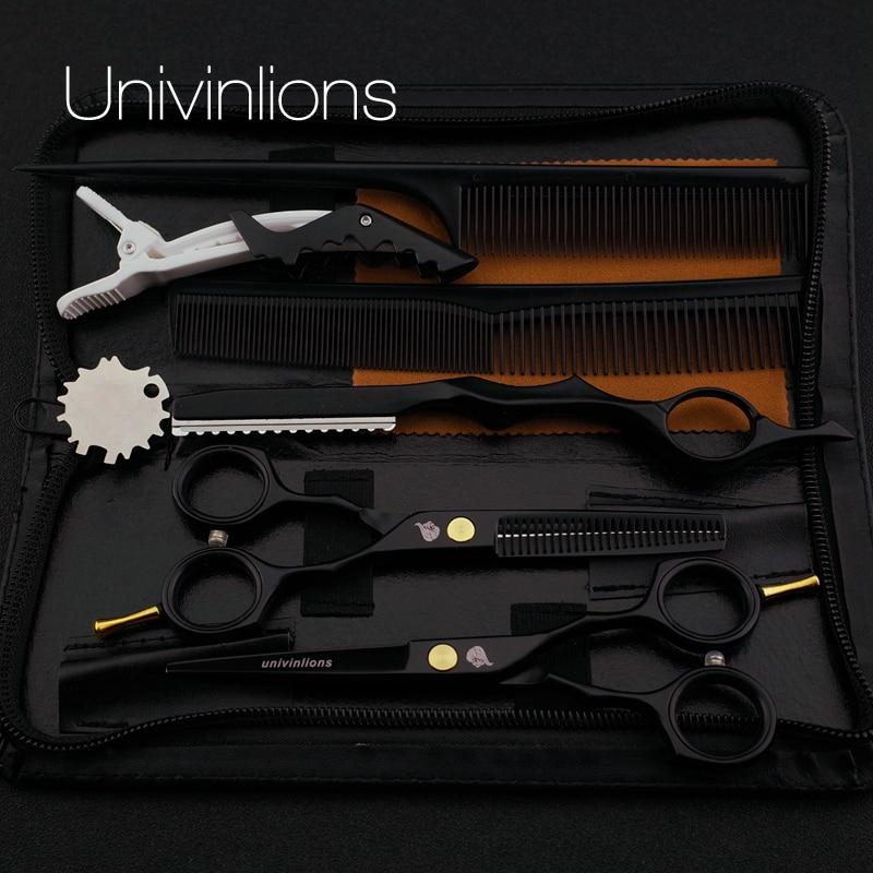 """5,5 """"svart hår sax barberare rakhyvlar sax het sax hår klippa mönster billiga frisör verktyg hårklippare barnen scisors"""