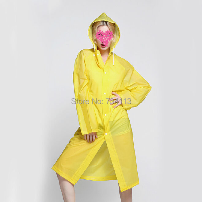 Aliexpress.com : Buy Rain poncho size for 160 175cm TALL Reusable ...