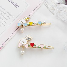 Summer Peal Hair Clips for Baby Girls French Barrette Hairpins Bobby Pins Kids Accessories Claw Women