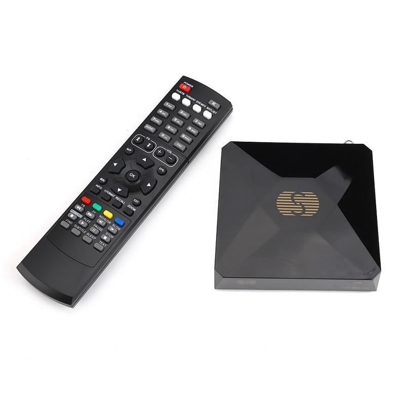 S-V6 DVB-S2 Digital Satellite Receiver with 2 USB port Support Xtream NOVA Wheel TV Youtube USB Wifi card sahring MGCAMD DVB S2