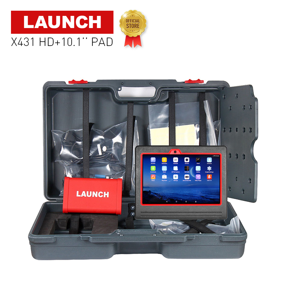LAUNCH X431 HD Heavy Duty Truck 10.1 Android ScanPad multimeters analyzers car scanner diagnostics tool for repairing cars