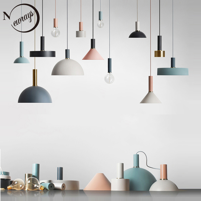 北欧ロフトシンプルなペンダントライトE27 led現代クリエイティブハンギングランプのデザインdiyリビングルーム、キッチン、レストラン