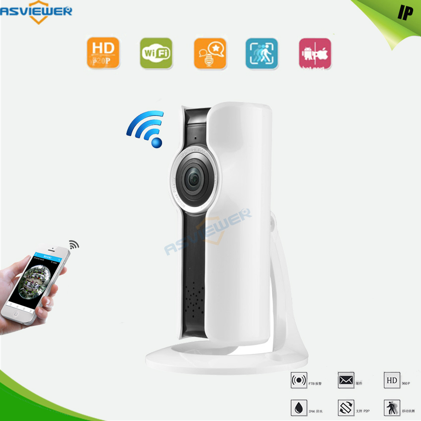 Wifi 960P VR CCTV Camera For Home Kids Wireless IP Camera Home Security Surveillance 180 Panoramic Camera Baby Monitor AS 185Y
