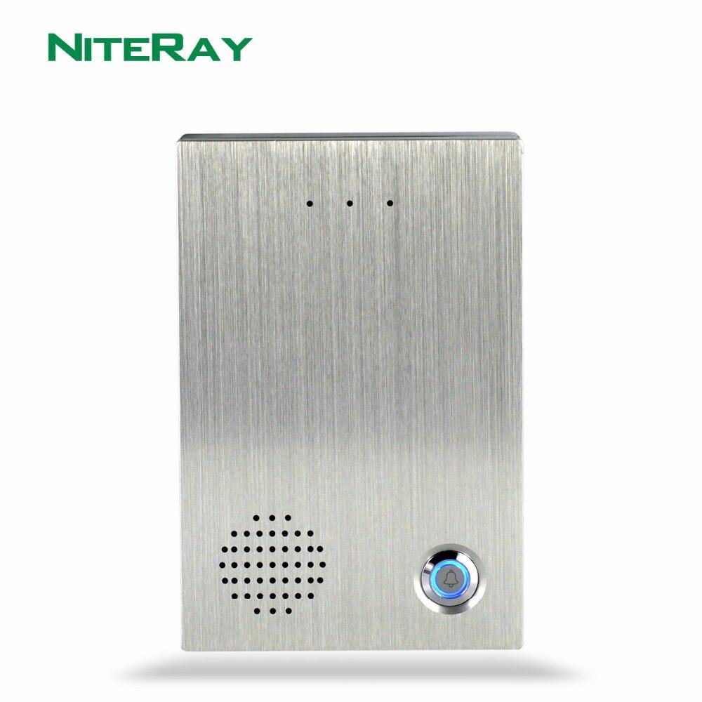 Door Access Control System SIP Intercom SIP Door Phone