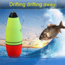 Luminous Fishing Float Boia Foam Type Led Fishing Light Stick Bobber Buoy Electronic Glowing Night Fishing Floats  Fishing Tools