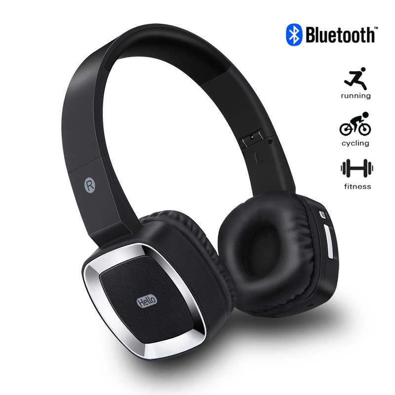Moloke Wireless Headphones Stereo Sound Bluetooth Headset Head wear portable Music game earphones for iphone iPad