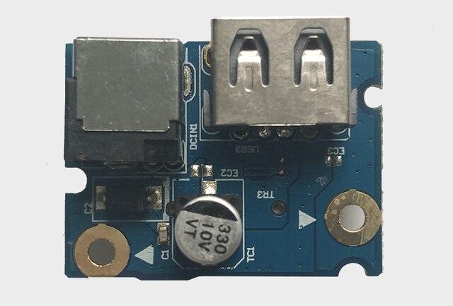 แล็ปท็อปใหม่ DC Power Jack BOARD และพอร์ต USB สำหรับ Lenovo G480 G485 G580 554SG03.001G