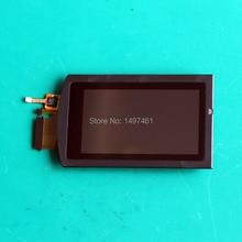 New touch screen display LCD assembléia com shell para Sony FDR AXP55 AXP55 AX53 câmera de Vídeo