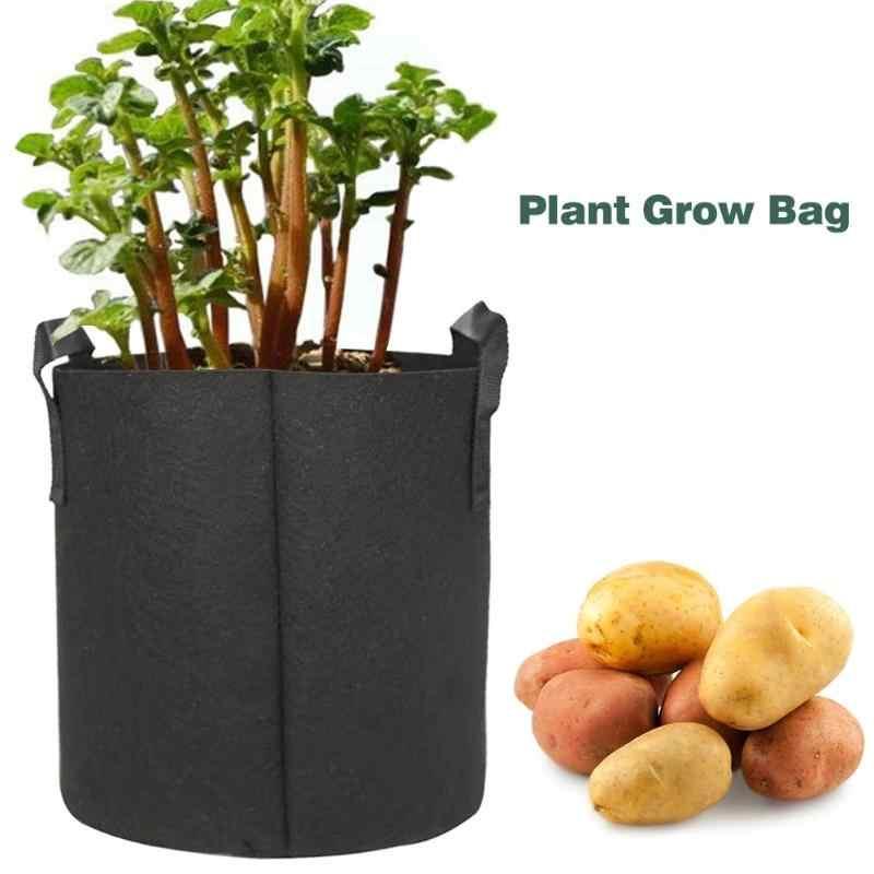 1/3/5/7/10 Gallon noir jardin plante cultiver sac légume fleur Pot planteur bricolage pomme de terre jardin Pot plante écologique cultiver sac