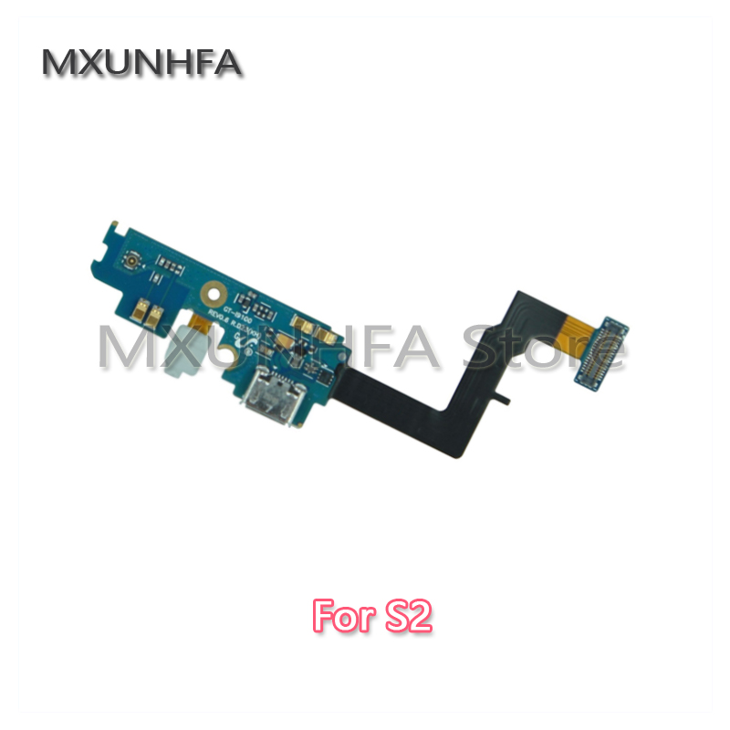 For Samsung Galaxy S2 I9100 GT-i9100 Micro USB Charging Charger Port Dock Connector Flex Cable Mobile Phone Replacement Parts