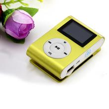 Mp3 player USB Mini Tela LCD Clipe MP3 Player Suporte 32 GB Micro SD TF Cartão quente da venda 18mar06