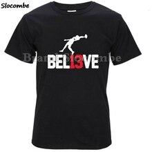f771062cc Beliede Men Odell Beckham Jr 13 The Catch Logo T-Shirt Long Sleeve New York