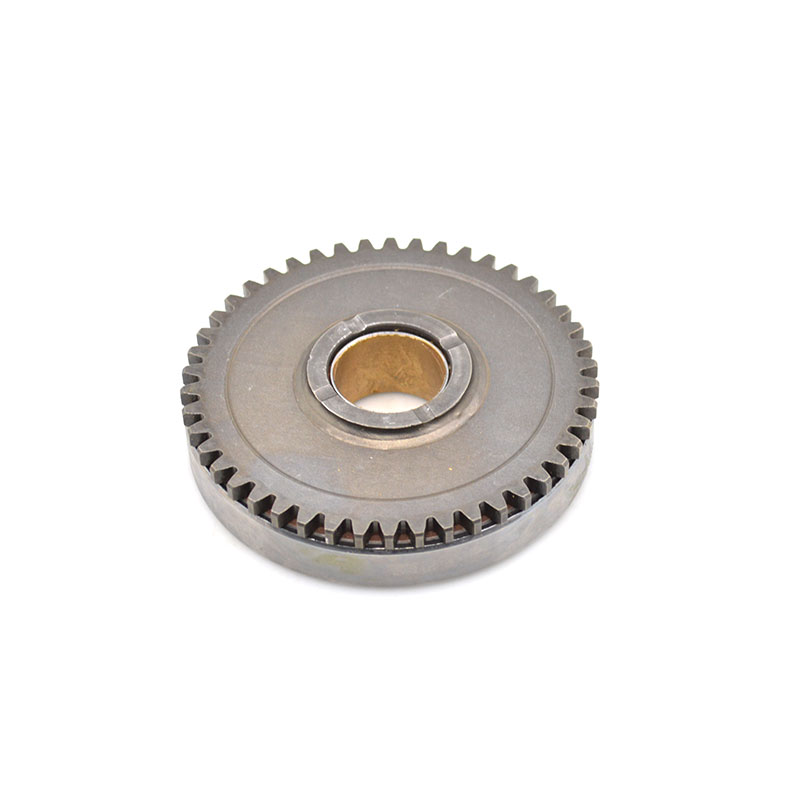 Motorcycle One Way Bearing Starter Clutch Assembly For Yamaha YBR125 JYM125 YBR JYM 125 46 Gear Teeth Counter Bore Spare Parts